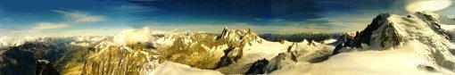 Mt Blanc Panorama