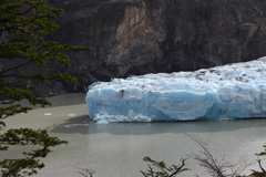 The Grey Glacier - yes it really is this blue