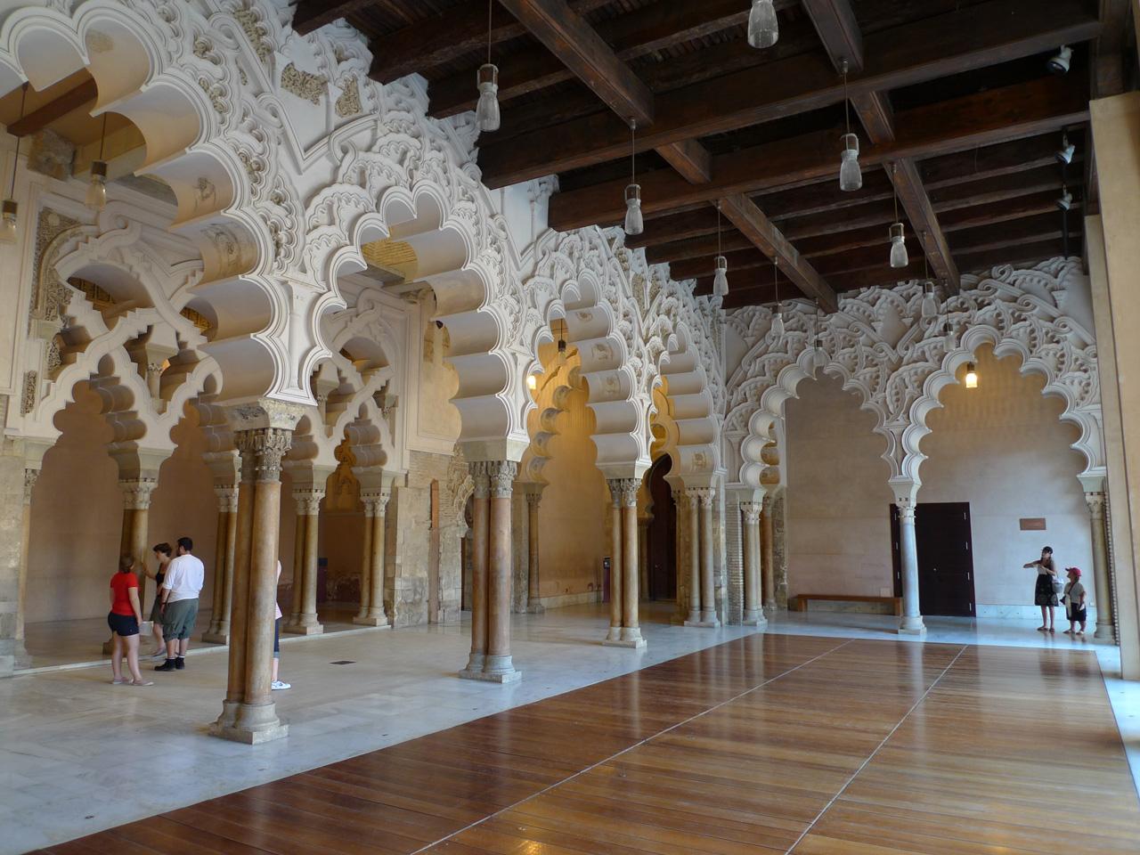 Spain 2011: 12 The Aljaferia Palace in Zaragoza